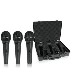 Behringer Ultravoice Xm1800s Dynamic Microphone 3-Pack