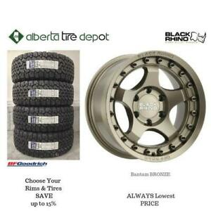 OPEN 7 DAYS LOWEST PRICE Save Up To 10% Black Rhino Bantam Bronze. Alberta Tire Depot.