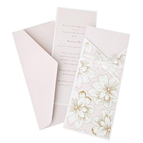 pink wedding invitation kit ebay With wedding invitation kits ebay