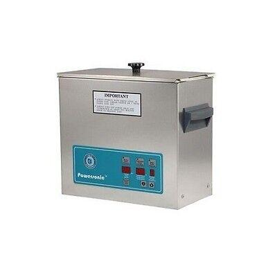 Crest Powersonic Ultrasonic Cleaner 1.5 Gallon Digital Timer Heat Pc Basket