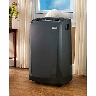DeLonghi PACAN140HPEWC 14,000 BTU Quiet Portable Air Conditioner with Heat Pump  for sale  Rogers