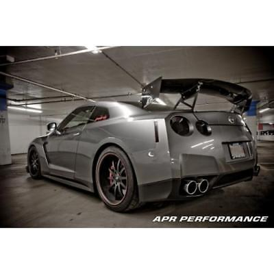"APR Performance Carbon Fiber GTC-500 Adjustable Wing Spoiler 71"" R35 GT-R"