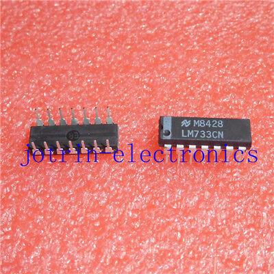 1pcs Lm733cn Dip-14 Lm733lm733c Differential Amplifier
