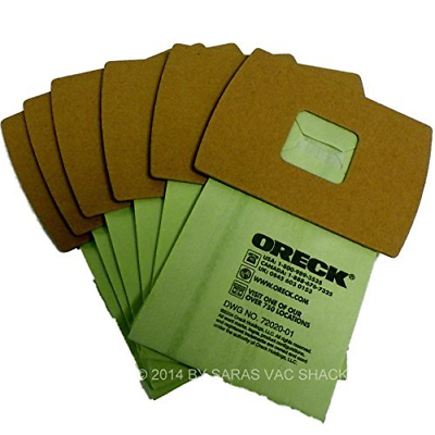 Genuine Oreck XL Buster B Canister Vacuum Bags PKBB12DW