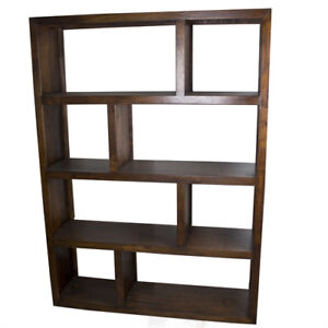 Michigan shelving unit-Acacia Wood