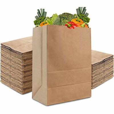 Stock Your Home 57 Lb Kraft Brown Paper Bags 100 Count