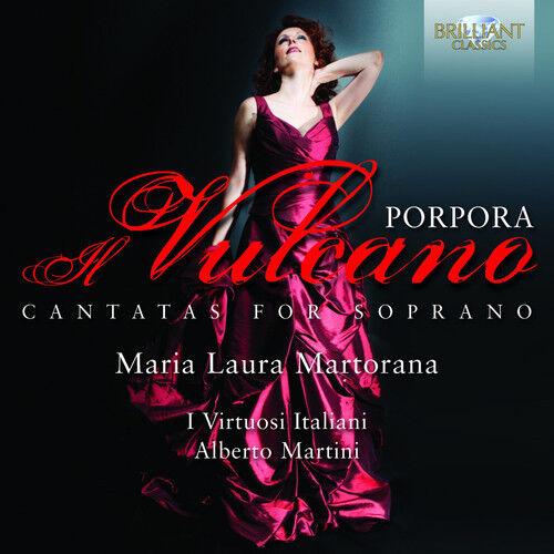 Maria Laura Martorana, Nicola Porpora - Cantatas for Soprano [New CD]