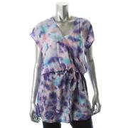 Purple Tie Dye Shirt