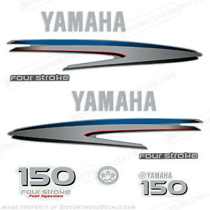 Yamaha-Outboard-Motor-Decal-Kit-150-hp-4-Stroke-Kit-Marine-Grade-Decals