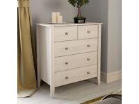White Oak 2 over 3 drawer chest -Sydney brand by VictoriaPlum BRAND NEW