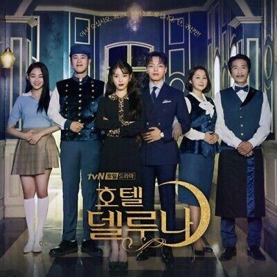 Hotel Del Luna OST Korean tvN TV Show K-Drama O.S.T CD+52p PhotoBook+Gift K-POP