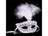 Carnival Mask Masquerade Luxury Mask Feather Venetian Mask Notting Hill Ball Fancy Dress