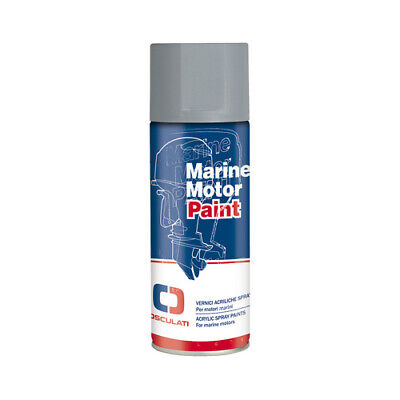 Marine Grade Evinrude & Johnson Outboard Motor Engine Paint - Silver Grey GT