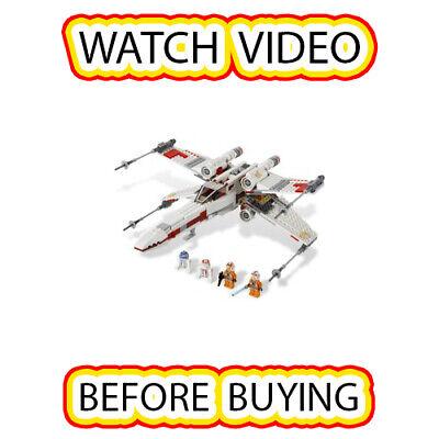 Lego X-wing Starfighter Set [itm6] 9493 Star Wars / Star Wars Episode 4/5/6