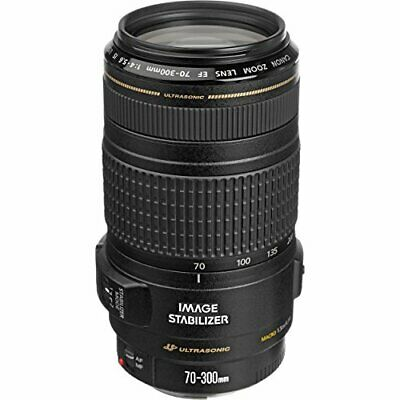 Canon EF 70-300 mm f/4-5.6 IS USM Telephoto Zoom Lens-0345B002