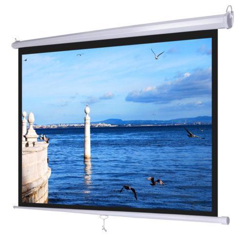 Pull Down Projector Screen Ebay
