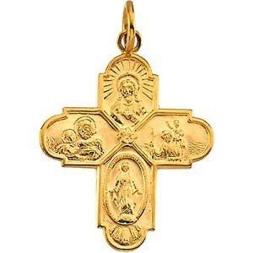 Scapular Medal Gold Ebay