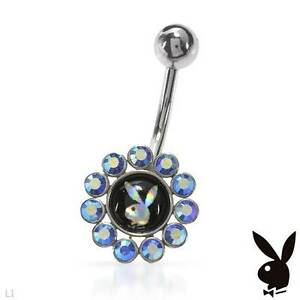 UNIQUE PLAYBOY MULTI-COLOUR BODY RING  -  BRAND NEW
