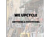 We upcycle unwanted items