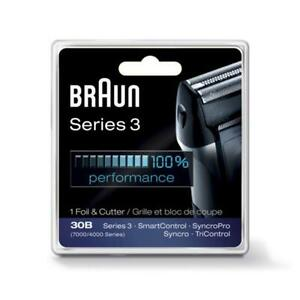 Braun Series 3 Combi 30B Foil And Cutter Replacement Pack (7000/