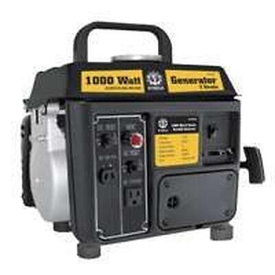 New In Box Steele Gg-100 1000 Watt Power Gas Generator 1.5hp Full Warranty