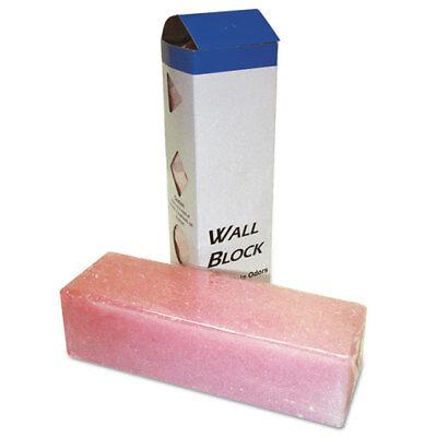 Deodorizing Para Wall Blocks, 24oz, Pink, Cherry, 6/Box ()