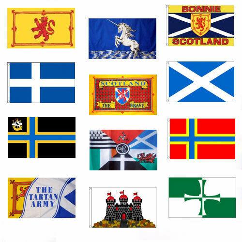 SCOTTISH FLAGS 5