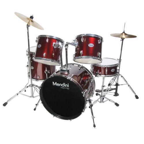 full drum set ebay. Black Bedroom Furniture Sets. Home Design Ideas