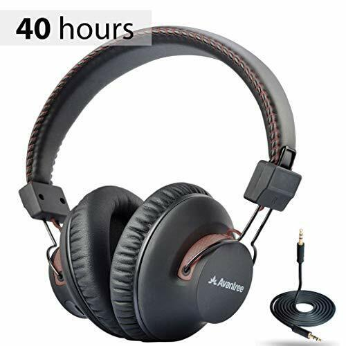 Avantree AS9S 40 Hr Wireless Wired Bluetooth Over Ear Headphones With Mic For - $47.99
