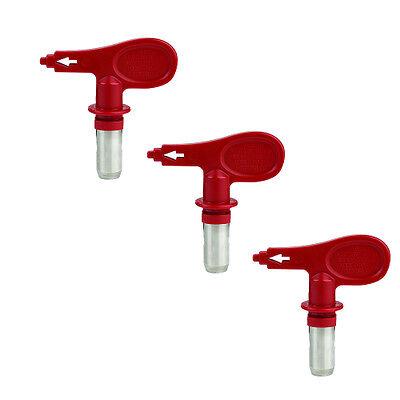 Titan Tr1 217 Reversible Spray Tip 3 Pack 695-217 Or 695217 - Oem