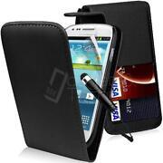 Samsung Galaxy Mini Leather Flip Case