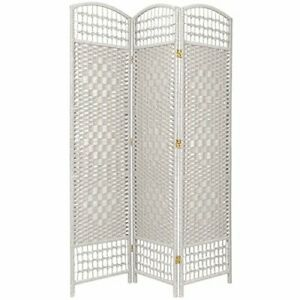 Fiber Weave Screen / Room Divider -3 panels