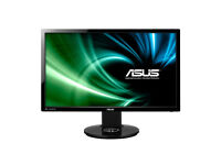 ASUS VG248QE Gaming Monitor -24'' FHD (1920x1080) , 1ms, up to 144Hz, 3D Vision Ready