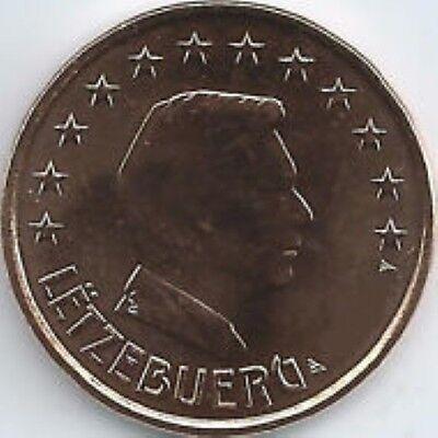 Luxemburg    2018     2 cent      UNC uit de zakjes   UNC du sackets  !!!