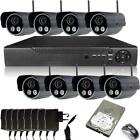 8 Camera Wireless Security System