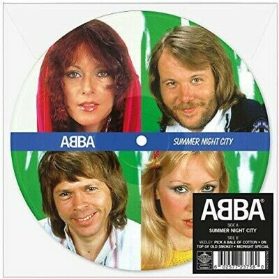 "ABBA - Summer Night City (Picture Disc) [New 7"" Vinyl] Picture Disc, UK - Import"