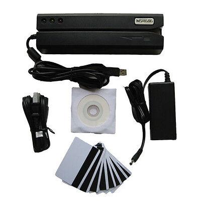 MSR606 Magnetic Credit Card Reader Writer Encoder Stripe Swipe MSR605 MSR206