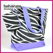 Zebra Cheer Bag