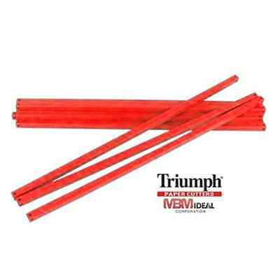 Cutting Sticks For Triumph 4300 Paper Cutter 6 Pack Red