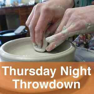 Pottery Class: Thursday Night Throwdown Belleville Belleville Area image 1