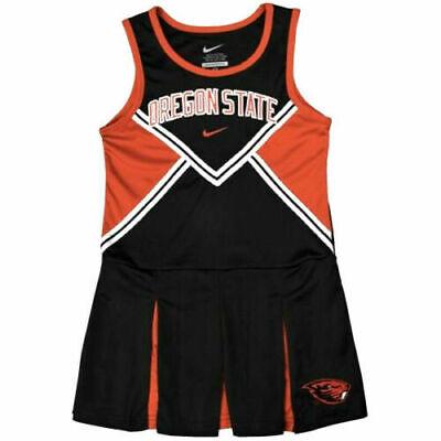 Nike sz 12 mo. Oregon State Beavers Girl's Cheerleader Outfit Costume 1C7644