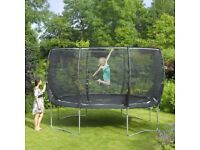 Plum 14ft Trampoline for PARTS, free to collector
