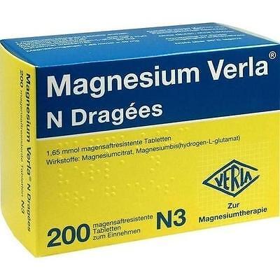 MAGNESIUM VERLA N 200St 4911945