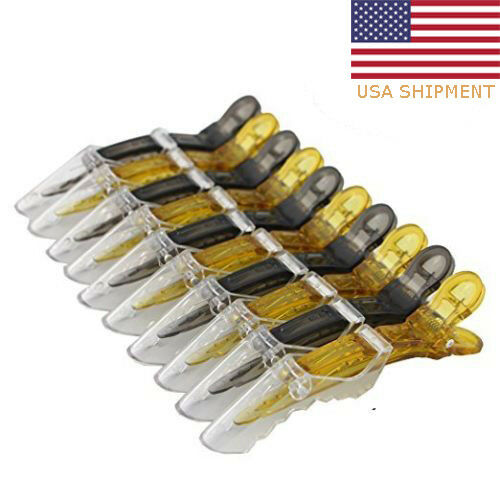 20pcs Salon Croc Hair Styling Clips-Sectioning Alligator Hair Clip Plastic New Clothing, Shoes & Accessories