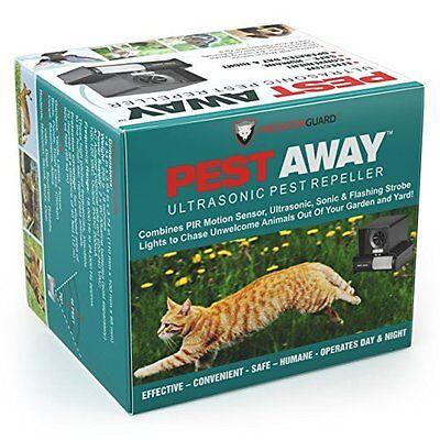 PREDATORGUARD PestAway Ultrasonic Outdoor Animal & Cat Repel