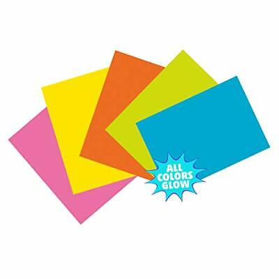 Pacon Pac1721 Index Cards 4 X 6 Unruled 5 Bright Colors Pack Of 100