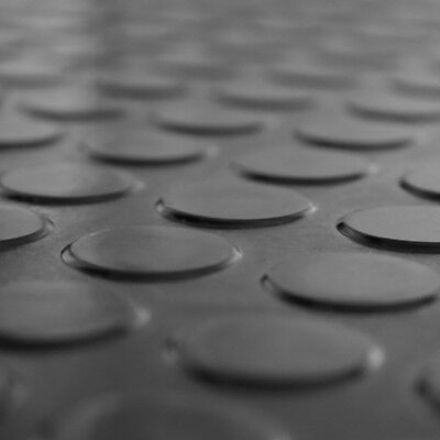 2m² Noppenmatte Bodenbelag Gummi 1,50m x 1,34m   3mm