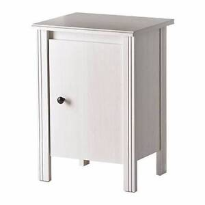White Ikea Bedside Table Willagee Melville Area Preview
