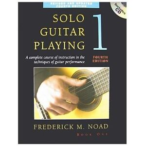 NEW Solo Guitar Playing - Noad, Frederick M.
