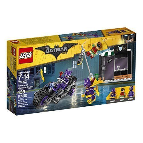 The LEGO Batman Movie - Catwoman; Catcycle Chase 70902